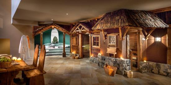 Hotel Gardena Grodnerhof: Sauna Area