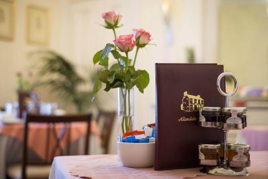 Allandale House: Breakfast Room