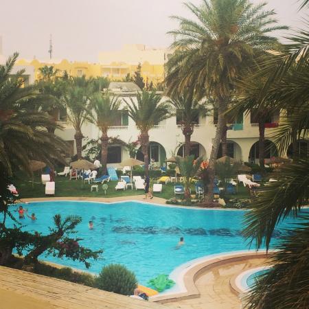Daphne Bahia Beach: Pool area