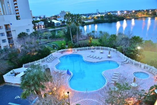 Two Bedroom Suite View 6th Floor Picture Of The Enclave Hotel Suites Orlando Tripadvisor