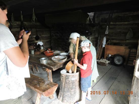 Mumford, estado de Nueva York: como fazer farinha de milho