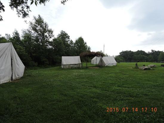 Mumford, estado de Nueva York: acampamento yankee