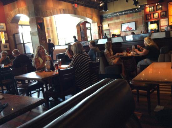 BJ's Restaurant & Brewhouse: Inside of the Restaurant