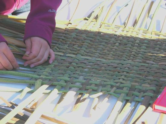 Cattail Creations: Create your own small mat or container to take home.