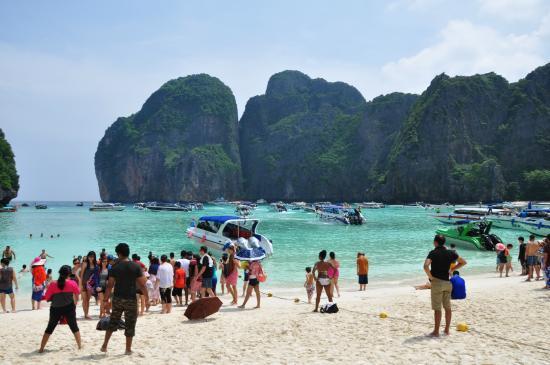 Тепленькая и прозрачная водичка - Picture of Ko Phi Phi Le, Ko Phi Phi Don - ...