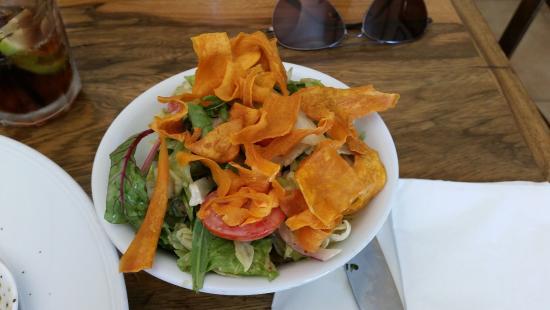 Gedera, อิสราเอล: Salad appetizer