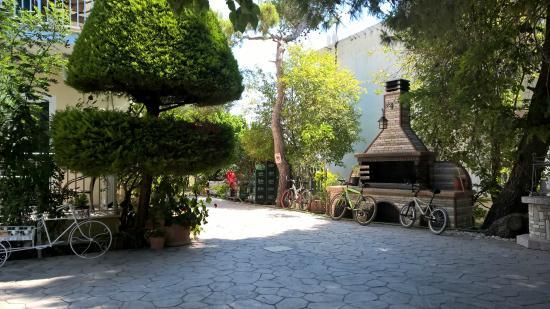 Kali Pigi Hotel: Basen
