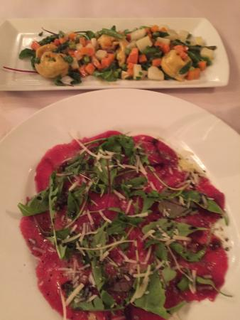Mancini: It's an awesome and outstanding restaurant. Great service, reasonable prices and very tasty food
