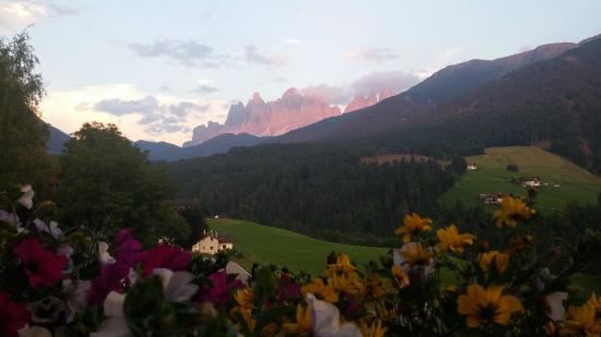 Residence Töglhof: Blick vom zimmereigenen Balkon