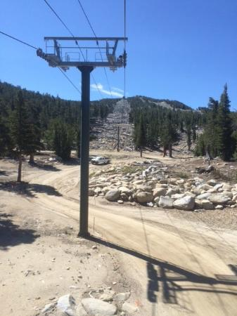 South Lake Tahoe, CA: Chair Lift View
