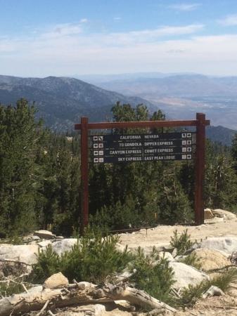 South Lake Tahoe, CA: Direction Sign at top