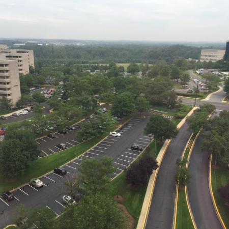 Greenbelt Marriott: View fr the 16th fl