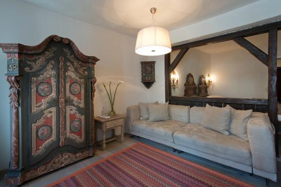 Hotel Forstinger: Doppelzimmer Deluxe im traditionellen Stil