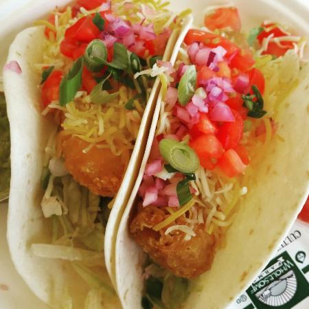 NazBar & Grill: The Baja tacos :)