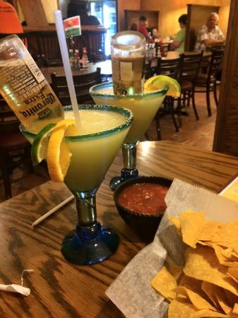 Margarita King Mexican Grill & Cantina: This glass was the size of my face!