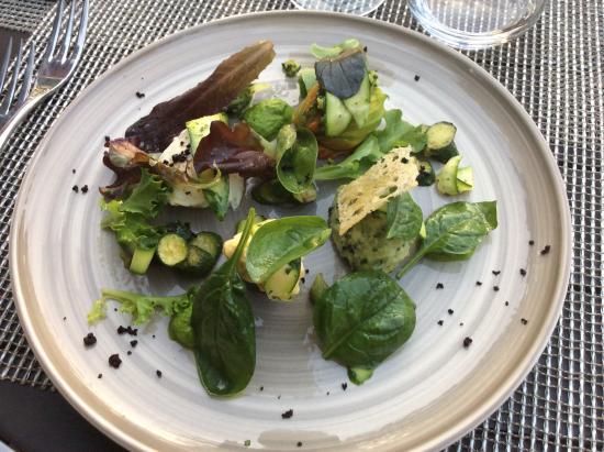 Villa Augusta : Vegetarian starter