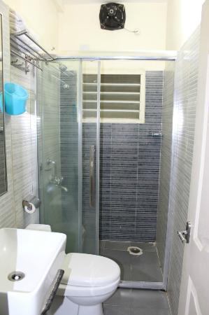 At Home Suites: Washroom