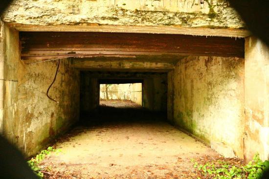 Peddock's Island : Fort Andrews building
