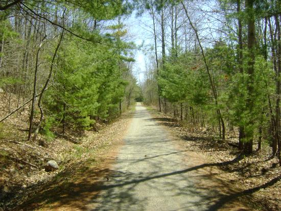 The Centennial Trail in Bridgewater