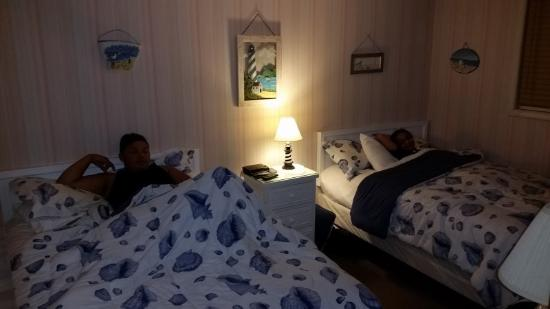 Wildwood Crest, Nueva Jersey: The bedroom.