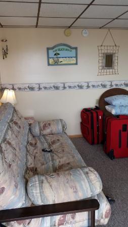 Wildwood Crest, Nueva Jersey: the comfortable futon