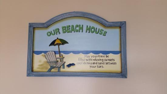 Monterey Resort: beach decor is nice
