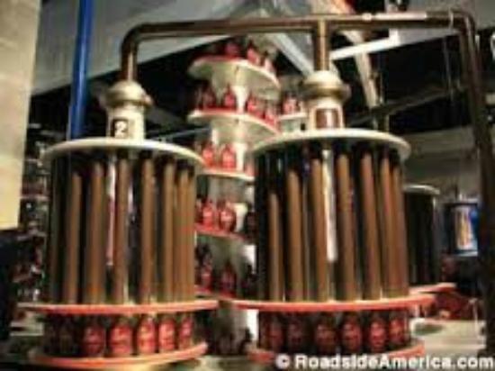 Chocolate tasting at Chocolate World - Picture of Hershey ...