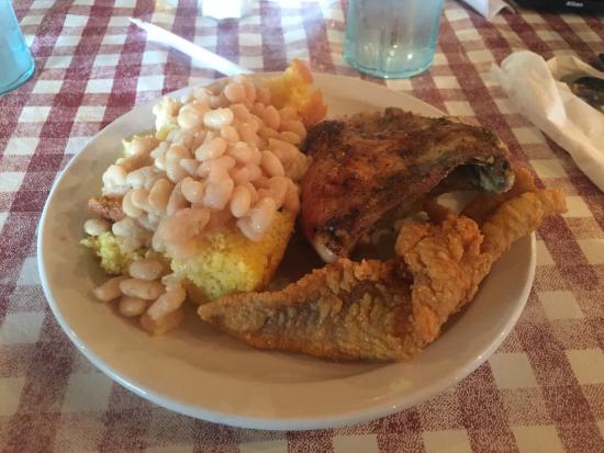 Montgomery, IN: My plate.