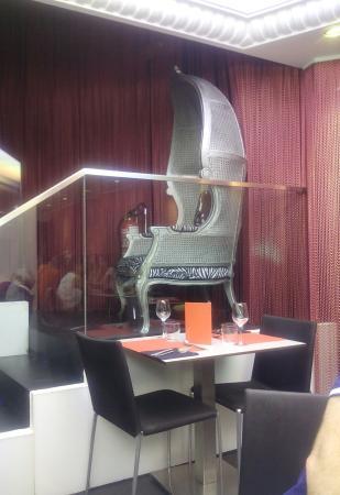 Cafe Niza: detalle del restaurante
