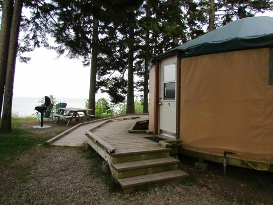 oTENTik at Fundy National Park & oTENTik at Fundy National Park - Campground Reviews (Alma New ...