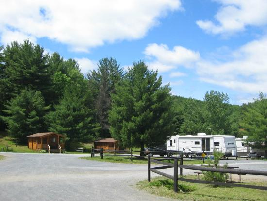Lake George Schroon Valley Resort: Campsites