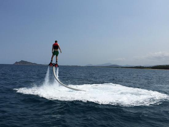 Flyboard Sardinia: My name is Marty Mc Flyyy ;-)