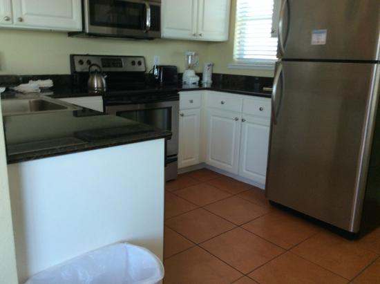 Madeira Bay resort Unit 413 - kitchen