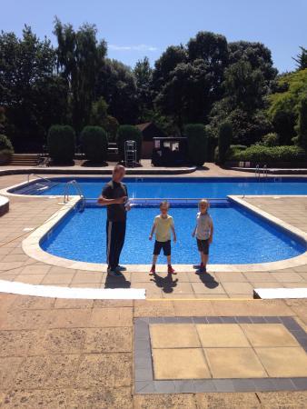 Fantastic Outdoor Pool Picture Of Macdonald Elmers Court Hotel Resort Lymington Tripadvisor