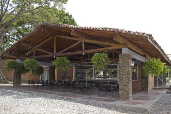 La Pintada, Колумбия: Hostería Los Farallones.