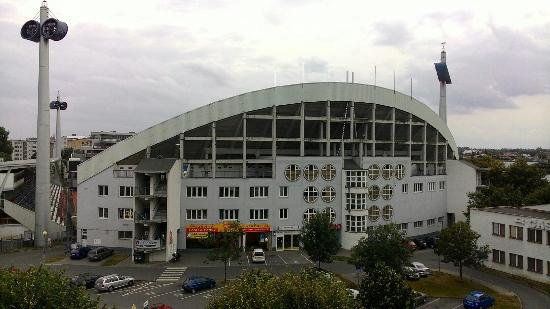 BEST Hotel Garni Olomouc: Pohľad z okna