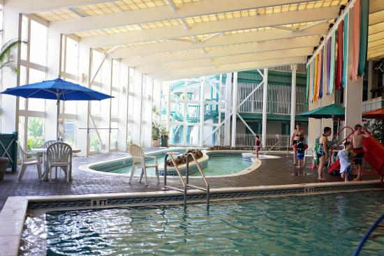 The Sandpiper Beacon Beach Resort Indoor Lazy River