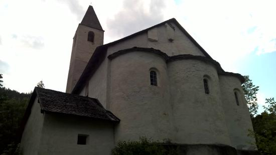 Tiefencastel, Suiza: The church
