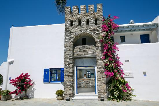 Pyrgaki Hotel: Entrance