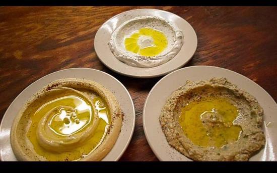 Τζάκσον, Μισισιπής: Delicious dips, hummus, Lubna, babaghanuj