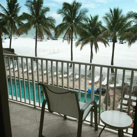 Best western beach resort, views of the beach.