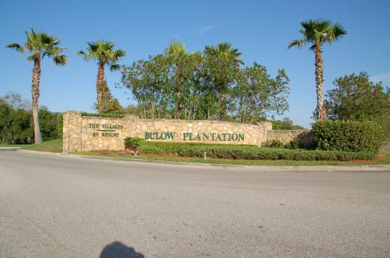 Entrance Picture Of Bulow Rv Resort