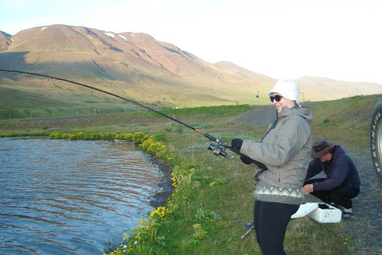 Votnin Angling Service: Trout fishing