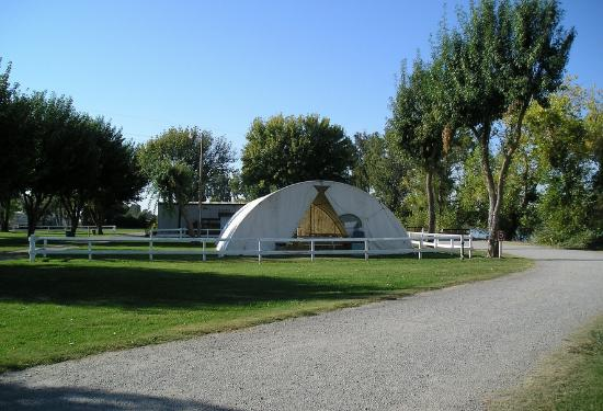 Lake Minden RV Resort : Camp site