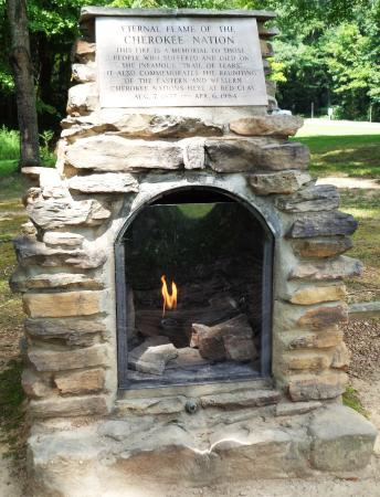 Red Clay State Historic Park: The Cherokee Eternal Flame