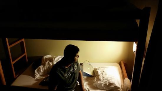 HI Lake Louise Alpine Centre: bed side reading light