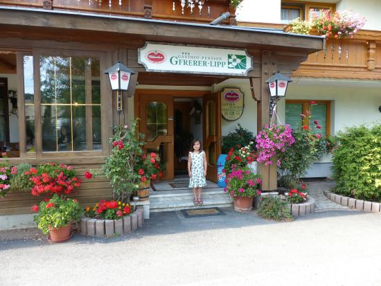 Feldkirchen, Austria: On the way in...