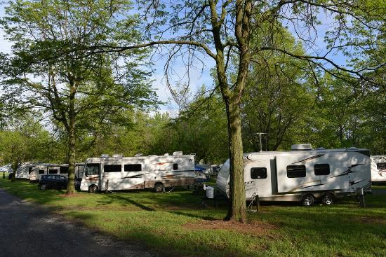 Spring Gulch Resort Campground: RV Site