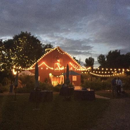 Denver Botanic Gardens at Chatfield: Green Barn Farm about 9:00 pm