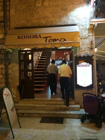 Konoba Toma: Świetne miejsce i cudowna atmosfera
